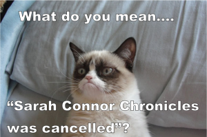 What do you mean... Sarah Connor Chronicles was cancelled?