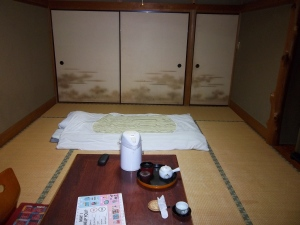 A room in Ryokan Nawai
